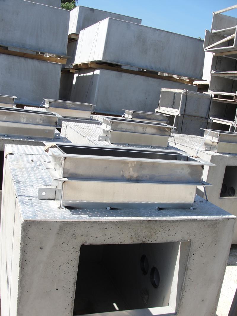 Concast Precast Pull Box Photo Gallery