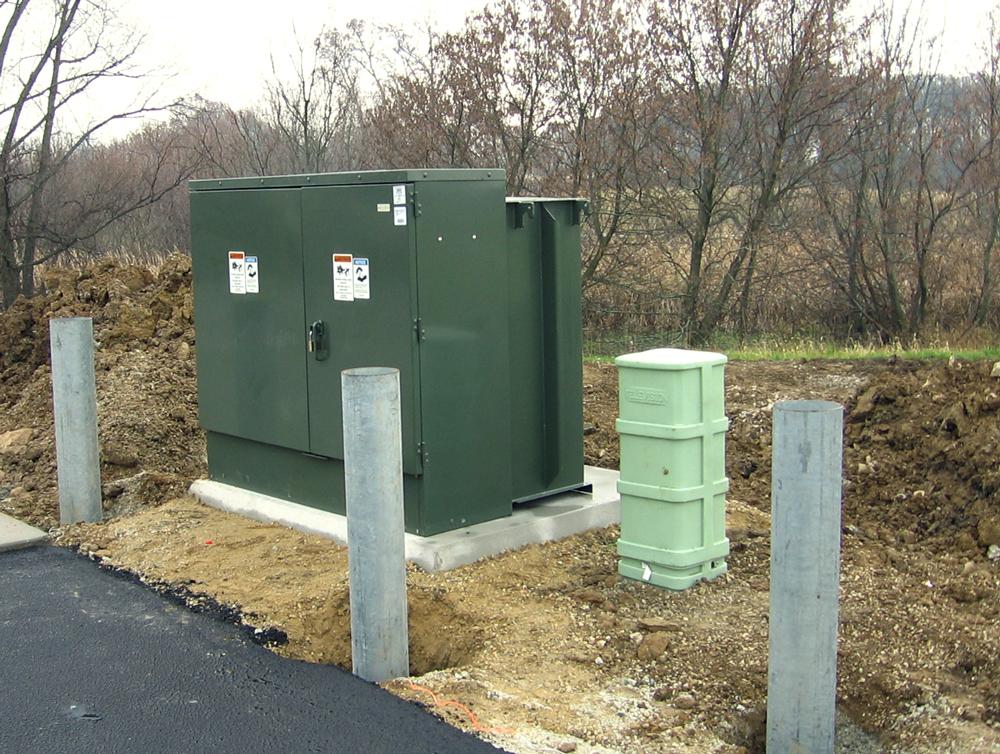 Concast Precast Concrete Box Pad Photo Gallery